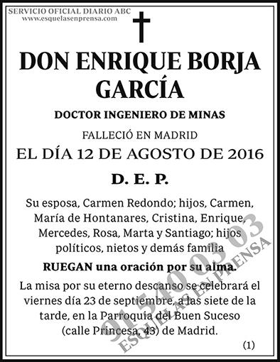 Enrique Borja García